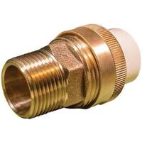 Low Lead CPVC Slip To Brass MPT Union, 3/4""