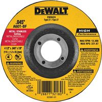 Dewalt 1394956 Depressed Center Grinding Wheel