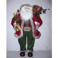 SANTA FIGURINE  36IN