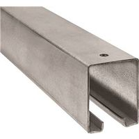 Trackmaster 5400 Plain Round Barn Door Rail