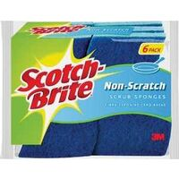 Multi-Purpose Scrub Sponge, 6 Pk