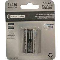 Boston Harbor BTLP14430400-D2 Replacement LiFePO4 Solar Battery