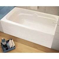 Avenue Tub with Right Drain, Whtie