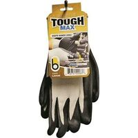 Nitrile Tough Max Gloves, Large