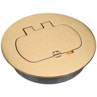 Floor Box Kit, Brass
