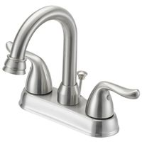 FAUCET LAV 4IN 2HNDL LEVER NIC