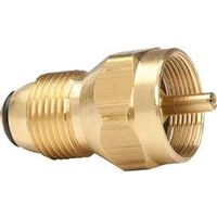 Propane Tank Refill Adapter, Brass