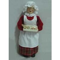 FIGURINE MS CLAUSE COOKIE 18IN