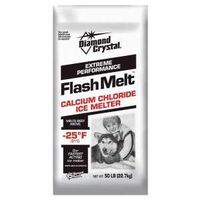 Flash Melt Calcium Chloride Flake Ice Melt, 50 Lbs