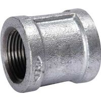 Galvanized Malleable Iron Coupling, 4""