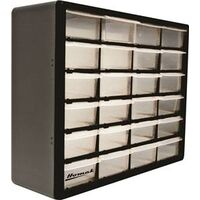Plastic Organizer, 24 Drawer