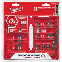 Shockwave 48-32-4004 Impact Driver Bit Set