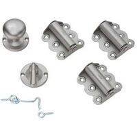 Screen Door Hinges, Satin Nickel