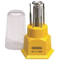 General Tools S605 Screwdriver Set
