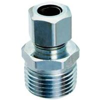 "Low Lead Straight Water Supply Connector, 1/2"" x 3/8"""