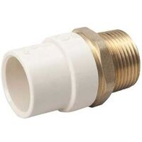 Low Lead CPVC Slip To Brass MPT Union, 1/2""
