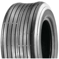 "Ribbed Lawnmower Tire, 15"" x 6.00-6"