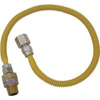 Brass Craft CSSL54-48 Gas Appliance Connector