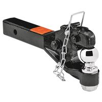 Cequent 7024100 Pintle Receiver Mount with (2) Balls
