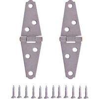 Light Duty Strap Hinge Galvanized, 2""