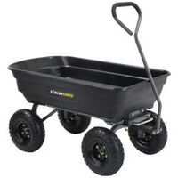 Poly Dump Yard Cart, 600lbs