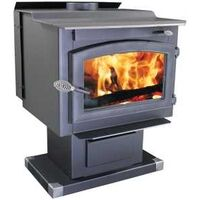 Performer Wood Stove with Blower, 119,000 Btus