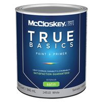 Mccloskey True Basics 14510 Latex Paint