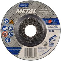 Norton 66252843600 Type 27 Grinding Wheel