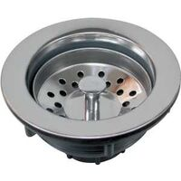 Plastic Sink Strainer Stainless Steel Top