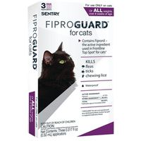 Sentry 02954 Fiproguard Flea and Tick Squeeze-On