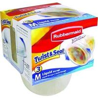 Rubbermaid Twist Top Takealong Container, 2 Cups