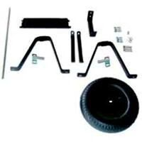Parts & Block Tire For 6 Cu' Steel Wheelbarrow