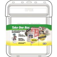 Take One 22131 Single Sided Flyer Box 10-1/2 in W 15 in H