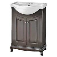 Palermo Bath Vanity with China Top, Cherry
