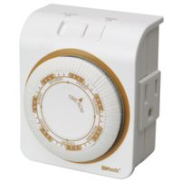 Woods 50002 Indoor Mechanical Timer