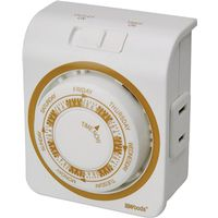 Woods 50003 Indoor Vacation Mechanical Timer