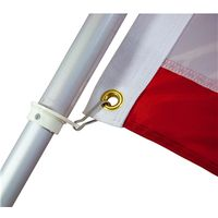 FLAG POLE ALUM 6FT W/SLEEVE
