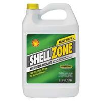 Shell Zone 50/50 Antifreeze Coolant, 1 Gal