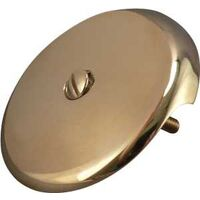 Bath Drain Face Plate, Polished Brass