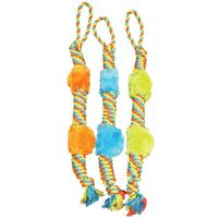 TOY PET TUG PLUSH ROPE
