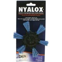 Blue Fine Nyalox Flap Brush, 4""