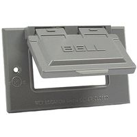 Hubbell 5101-5 Weatherproof Device Cover