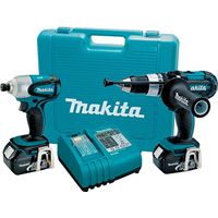 Makita LXT218 Cordless Kit