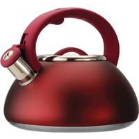 KETTLE WHISTLING 2.5QT RED