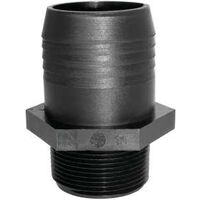 "Poly Tank Adapter, 1 1/2"" x 1 1/2"""