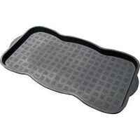 HEAVY DUTY BOOT TRAY, 15X30, BLACK