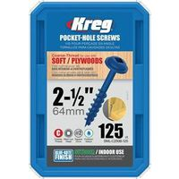 SCREW WR 8 COARSE 2-1/2 125CT