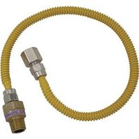 Brass Craft CSSL54-12 Gas Appliance Connectors