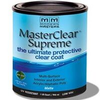 Master Clear Coat Matte, Quart