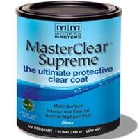 Master Clear Coat, Gloss, Quart